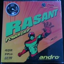 Andro Rasant Powergrip 1,9 mm rot