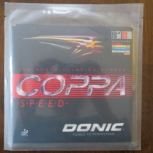 Donic Coppa Speed 1,9 mm schwarz