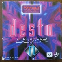 Donic Desto F1 1,8 mm schwarz
