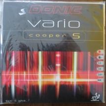 Donic Vario Cooper S 2,0 mm schwarz