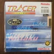 Nittaku Tracer 2,0 mm schwarz